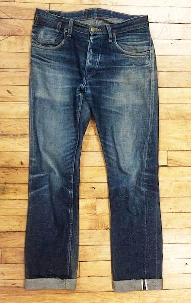Left Field NYC made in the USA denim