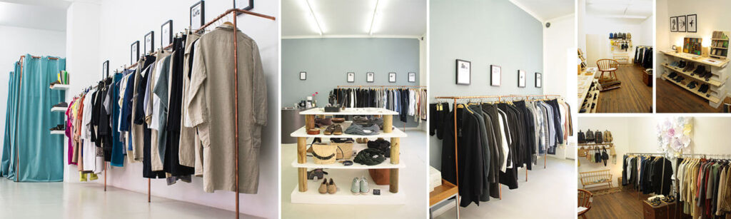 homage store sustainable fashion Berlin