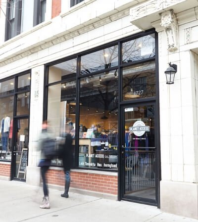 Planet Access Co Store Chicago Sustainable Fashion