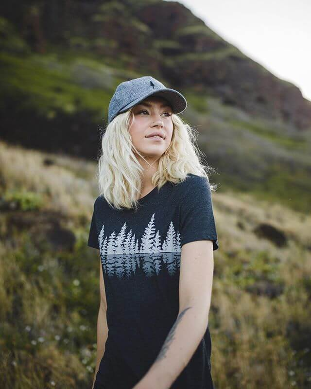 Tentree sustainable gym wear