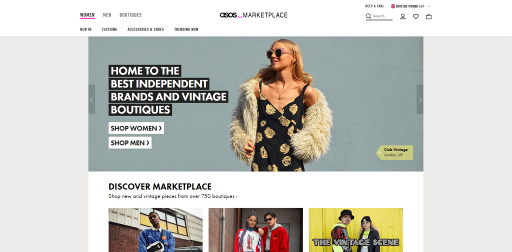 asos marketplace