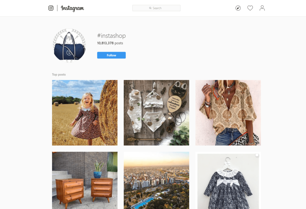 Instagram buy and sell clothes