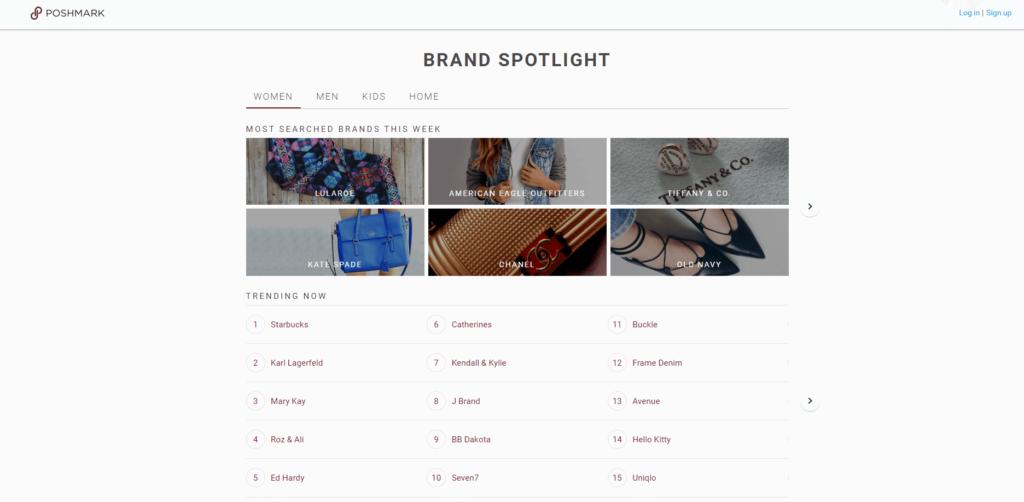 poshmark online thrift store