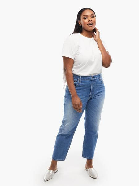able womens sustainable eco-friendly jeans