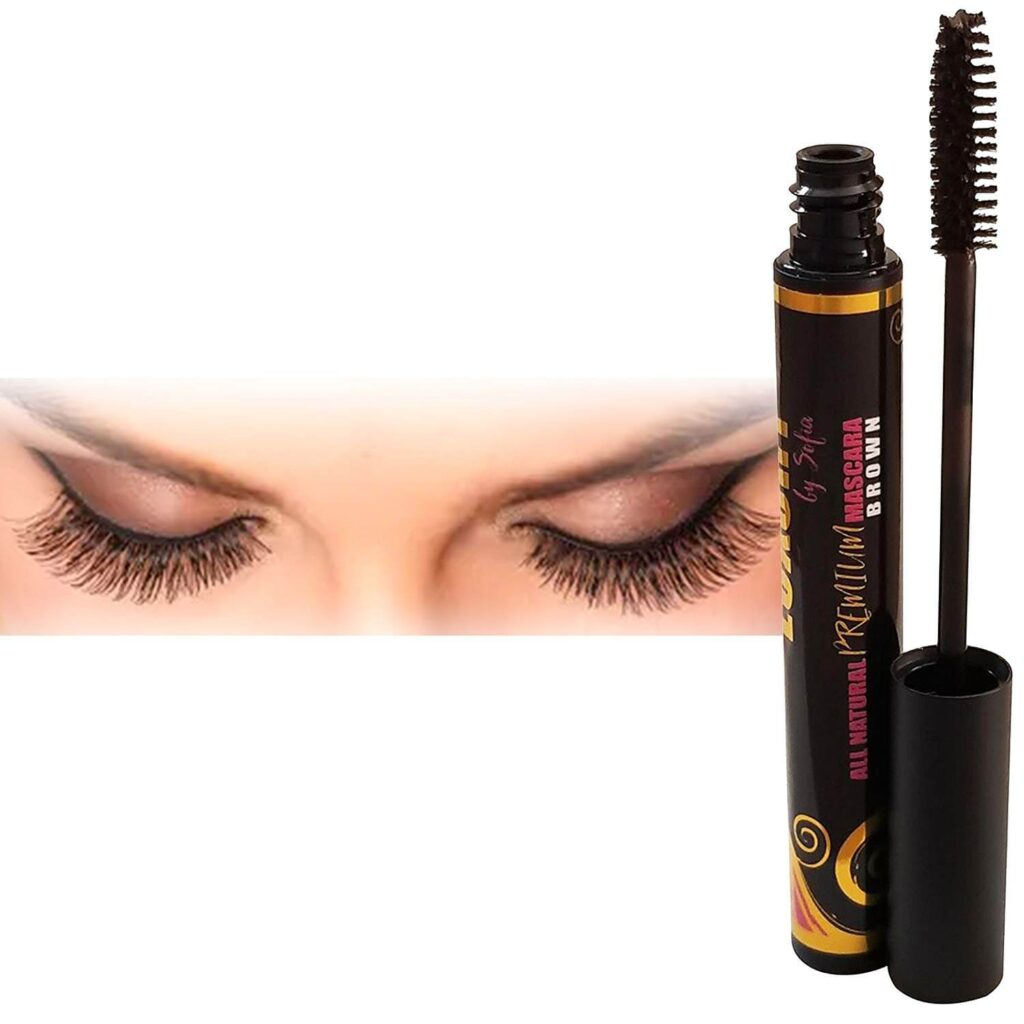luxury by sofia natural mascara