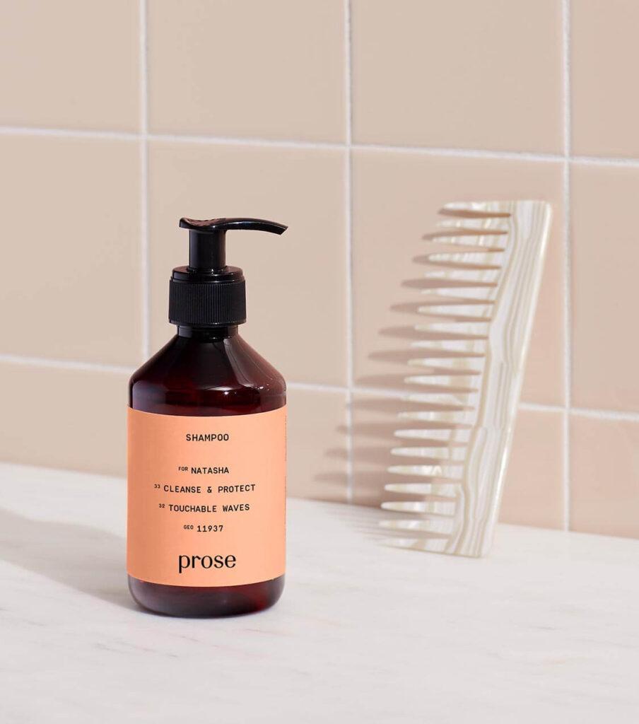 prose natural shampoo