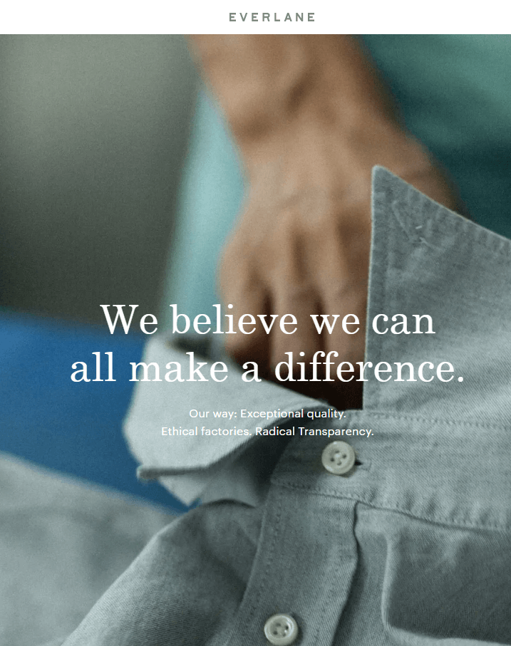 Is Everlane sustainable