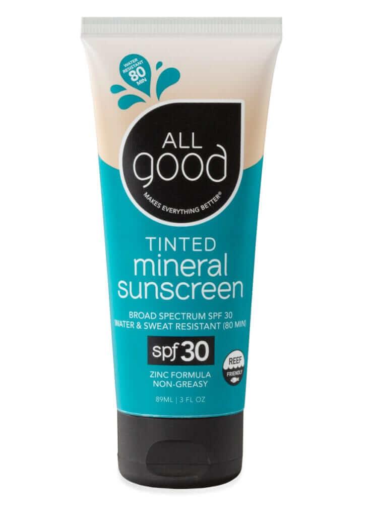 AllGood mineral sunscreen