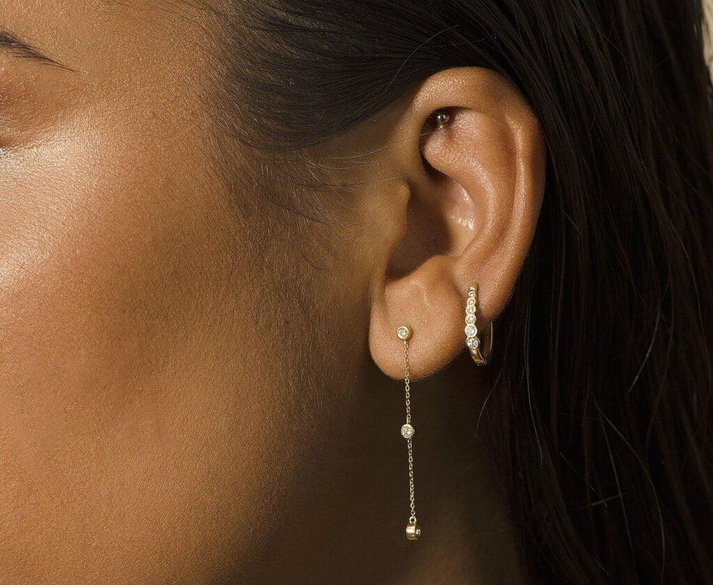 Joie de Viv sustainable ear rings
