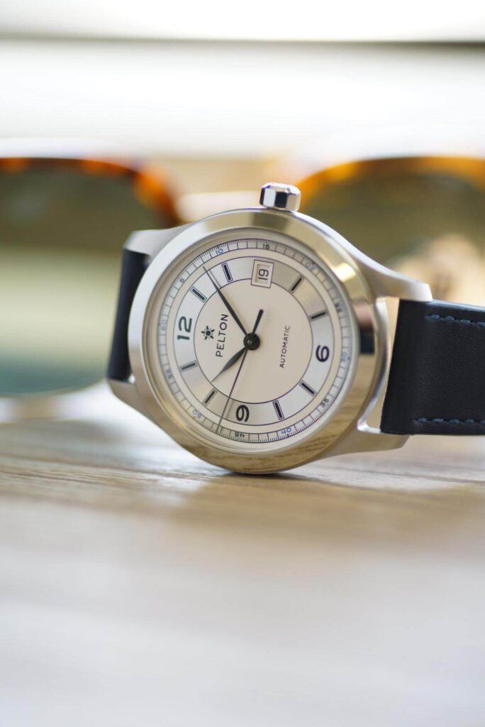 Pelton Made in the USA watch