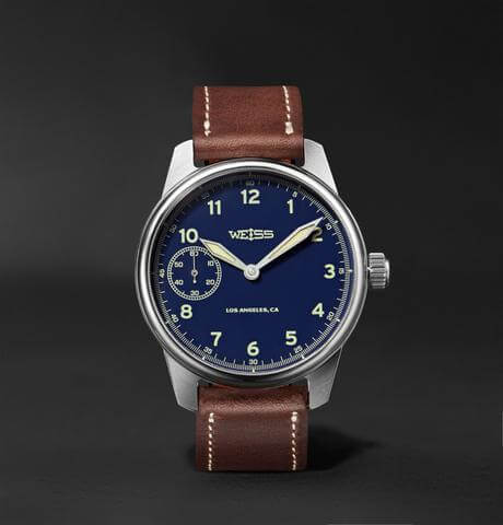 Weiss Watch Company Made in the USA