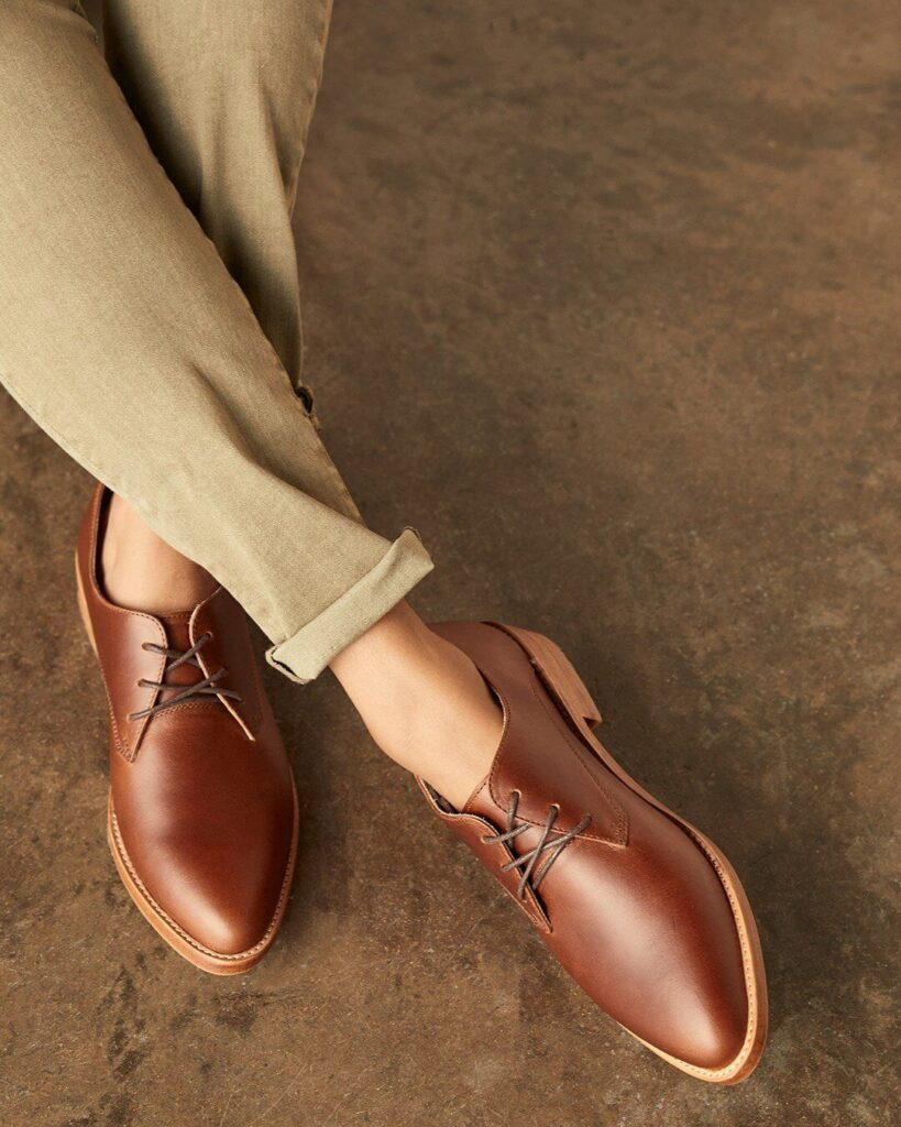 Nisolo ethical leather shoes