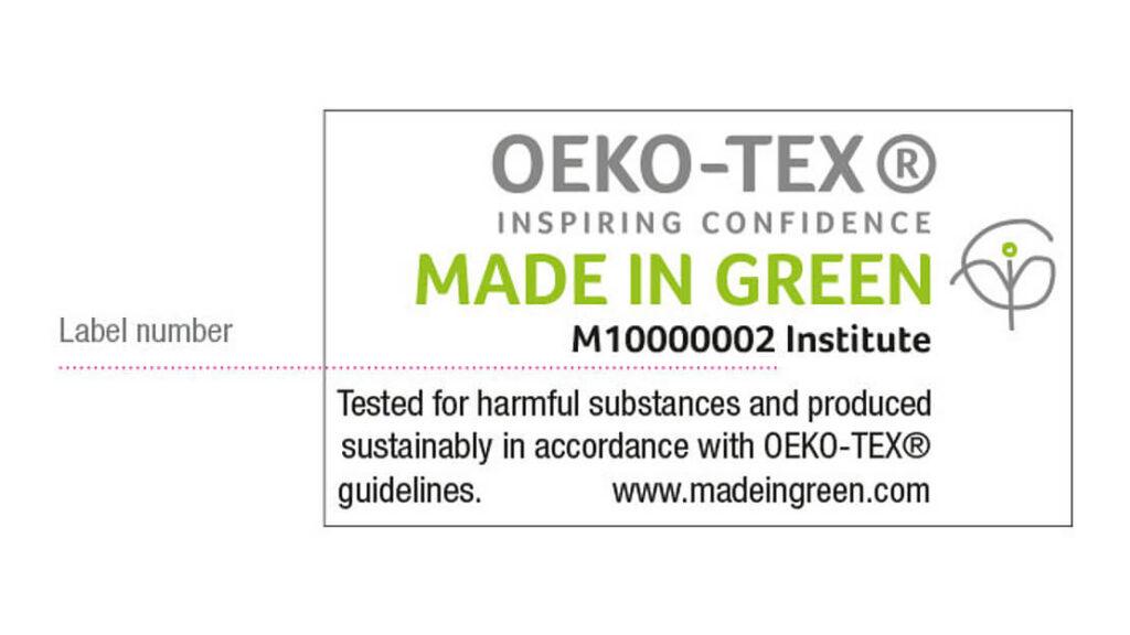 Oeko Tex Certification