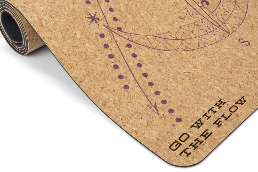 Cork mat from Yohala, eco friendly yoga mat