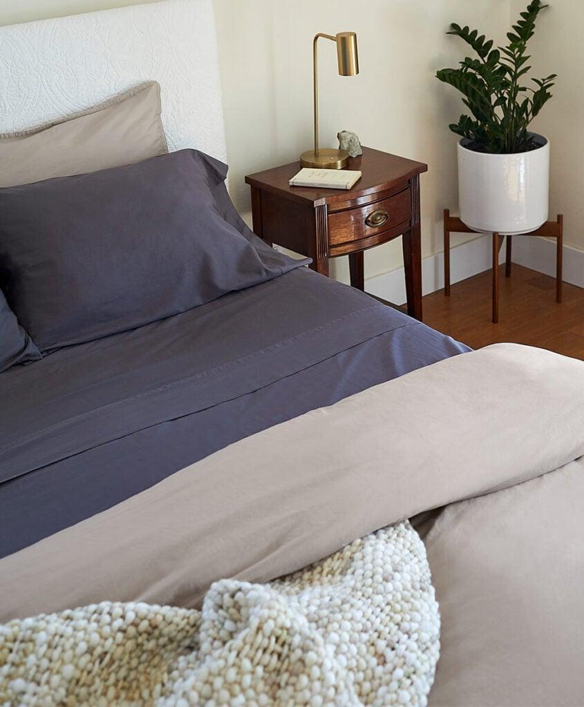 Pact bedding, organic cotton eco friendly bedding