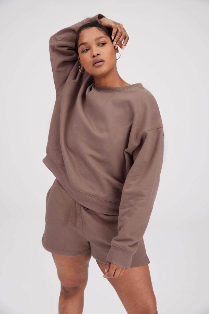 Girlfriend Collective eco friendly Sweatshirt