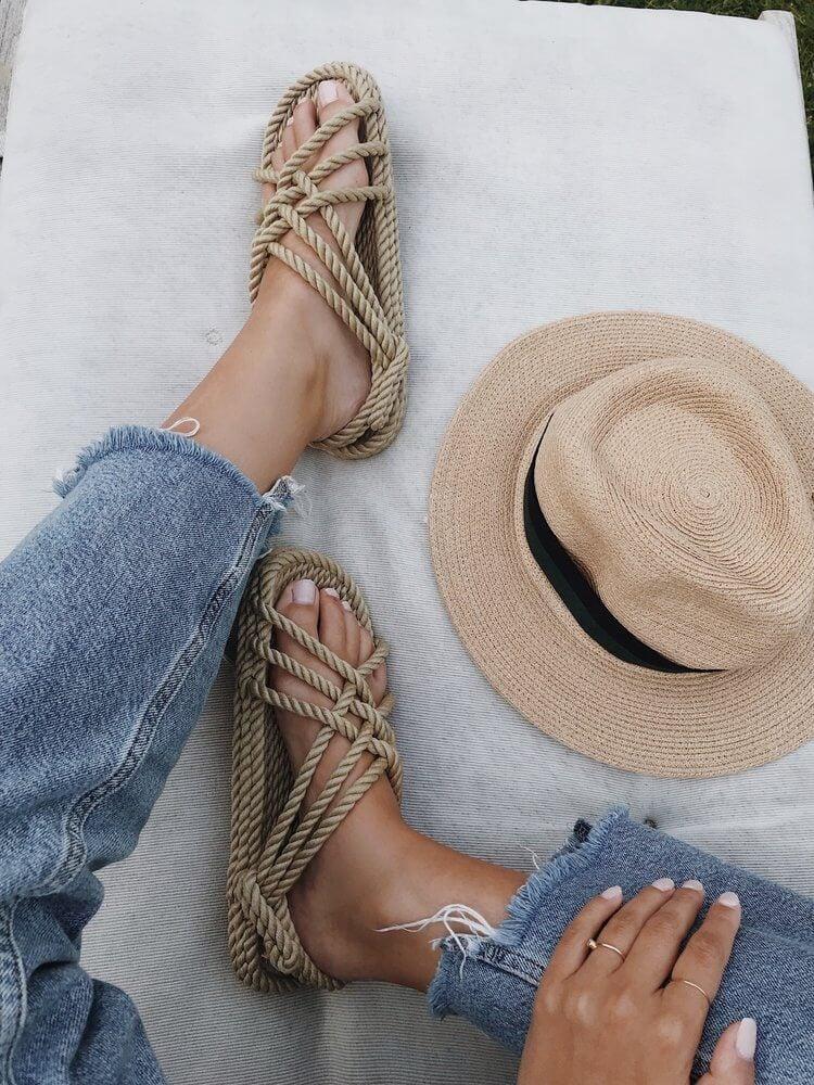 Nomadic state of mind sustainable sandals