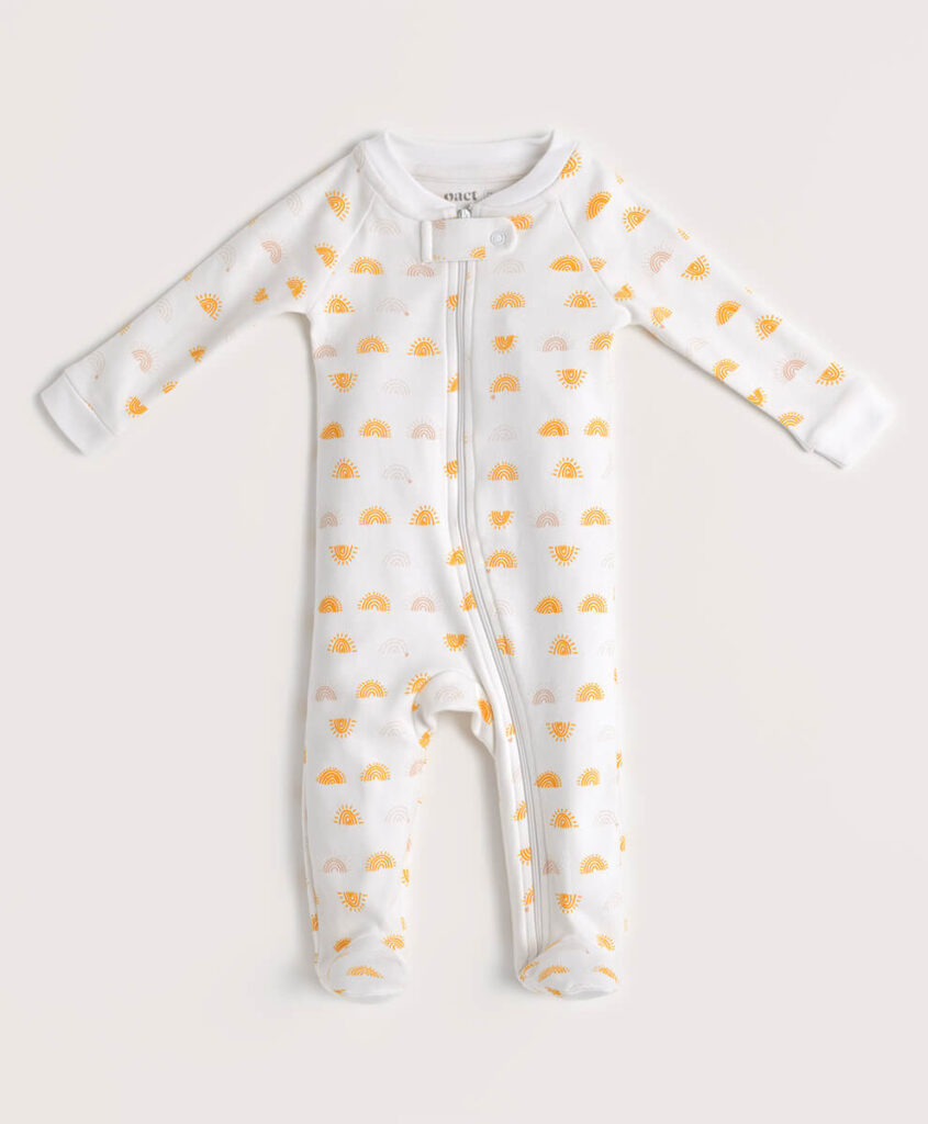 Pact baby grower from organic cotton