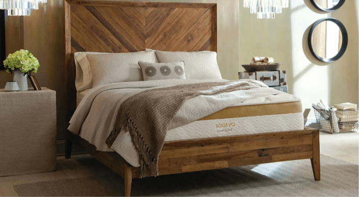 Saatva best organic mattress