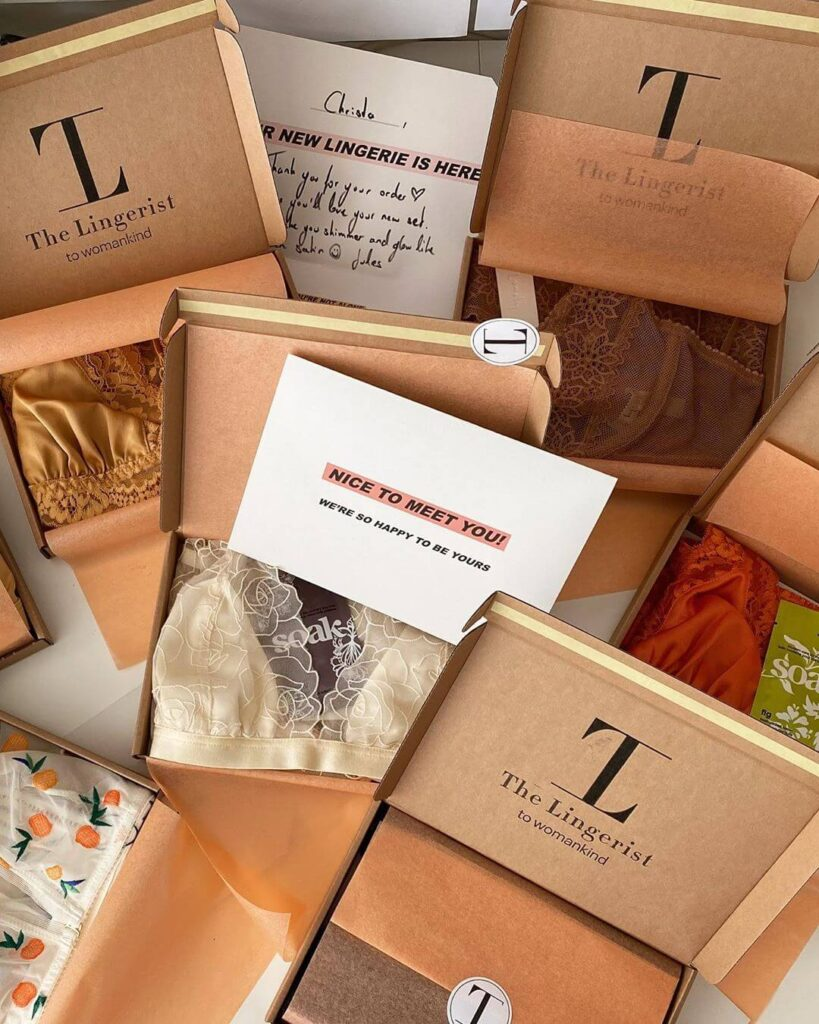 The Lingerist sustainable lingerie
