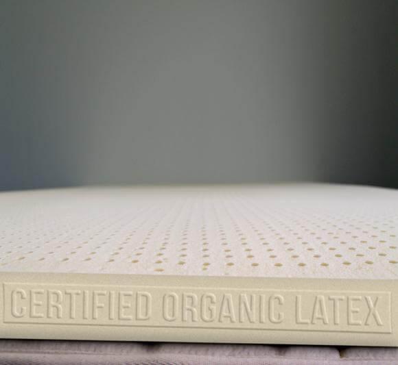 Turmerry organic latex mattress topper