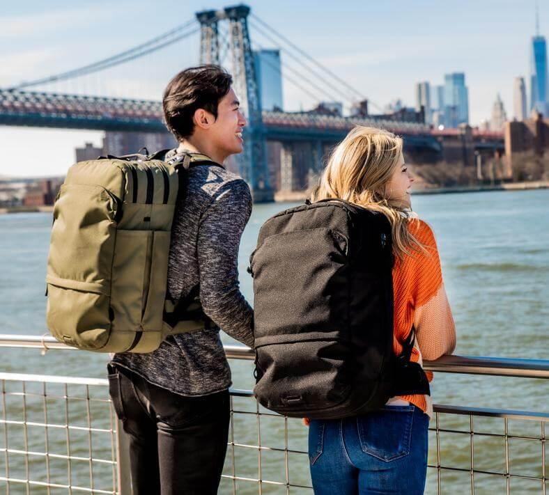 Pakt sustainable backpack