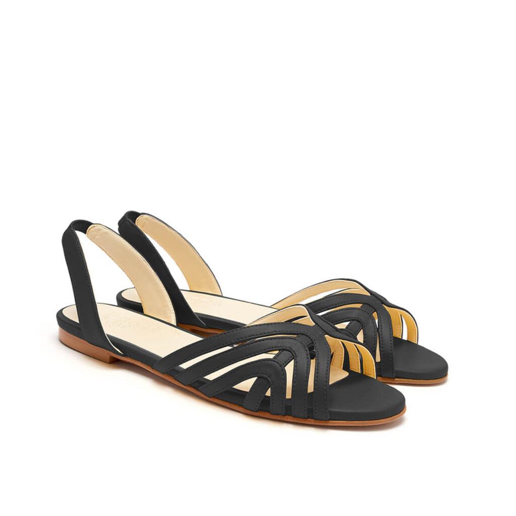 Vegan Slip On Sandals by Beyond Skin