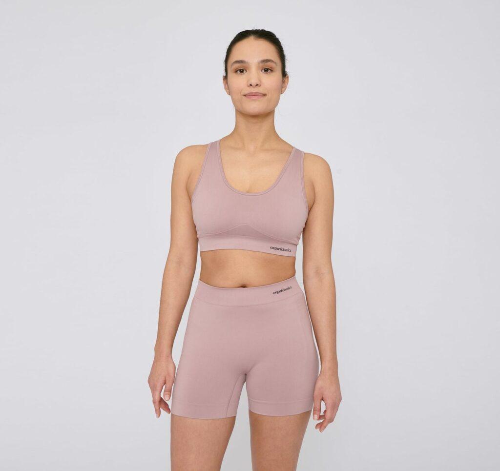 Organic Basics yoga shorts