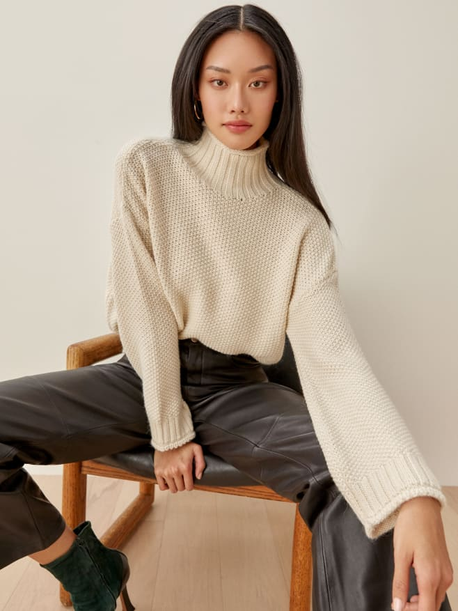 Reformation sustainable sweater