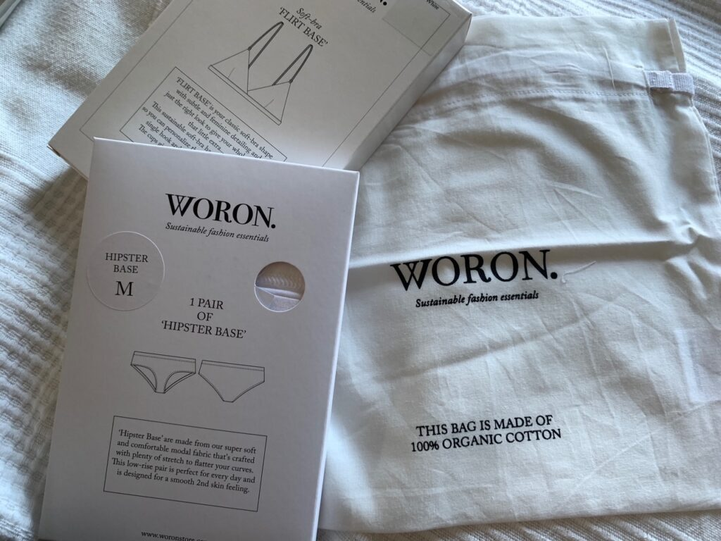 Woron recycled packaging