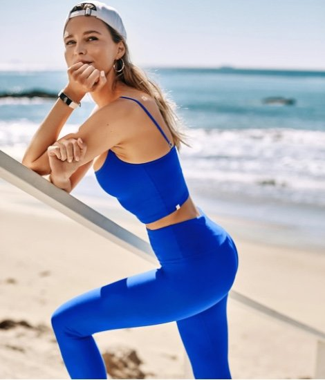 Summersalt sustainable activewear made from recycled materials