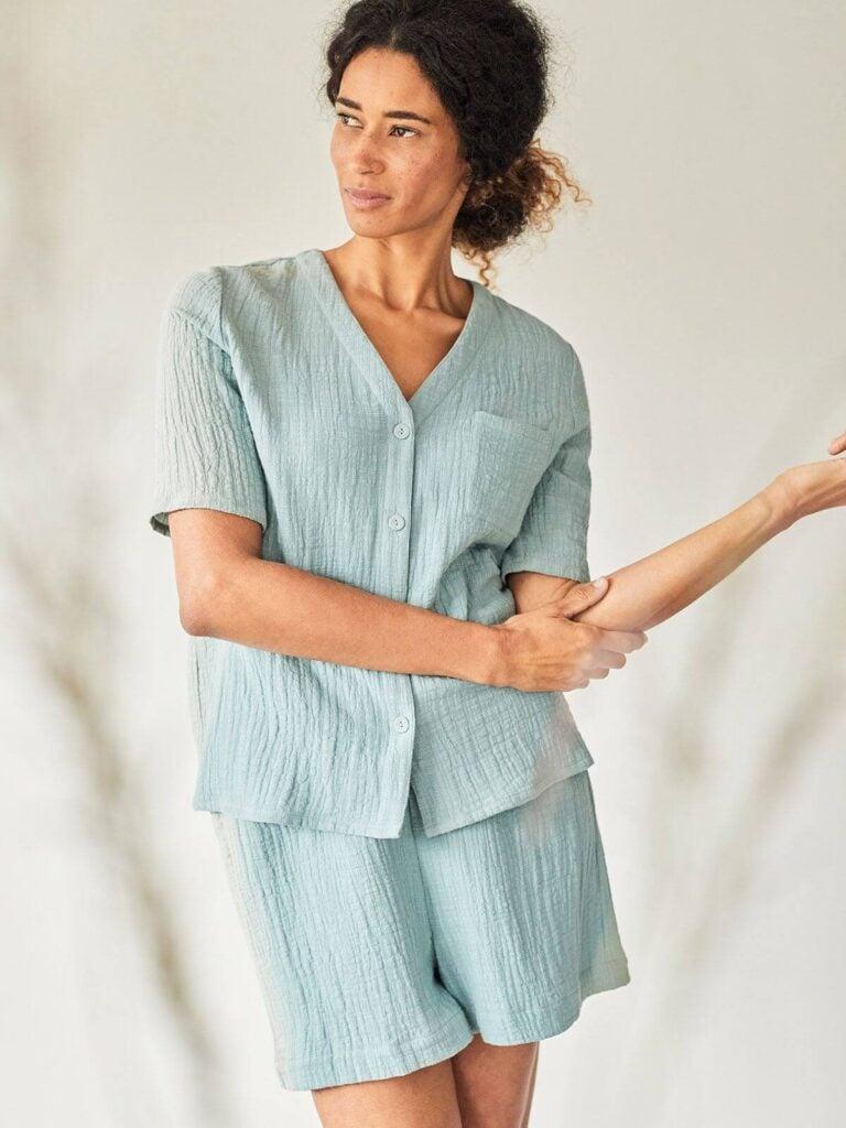 Thought Organic cotton pajama set