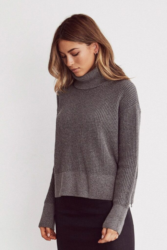 Vetta capsule collection sustainable sweater