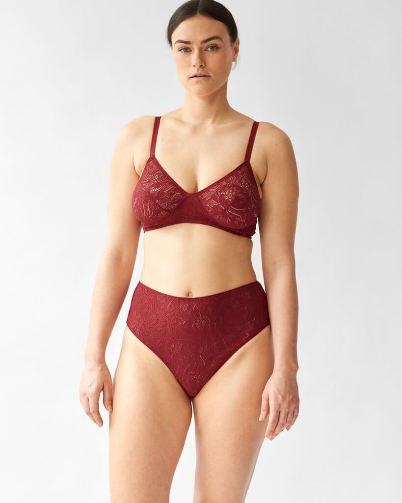 ARAKs ethical lingerie set