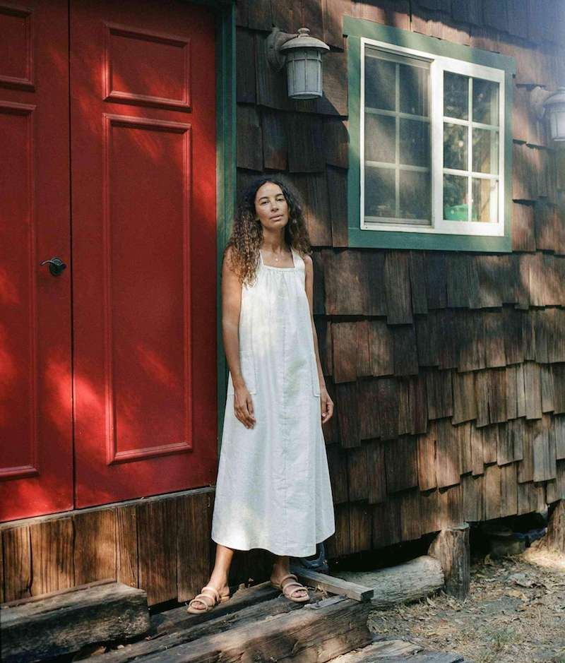 Christy Dawn organic maternity dress