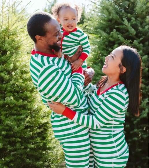 Hanna Anderson ethical organic cotton holiday pajamas
