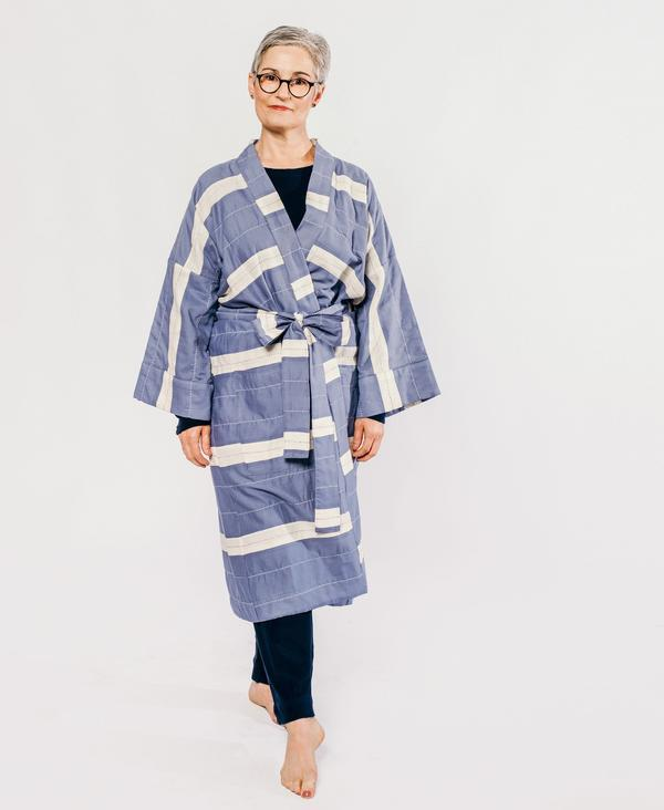 Made Trade organic cotton robe from Anchal Project