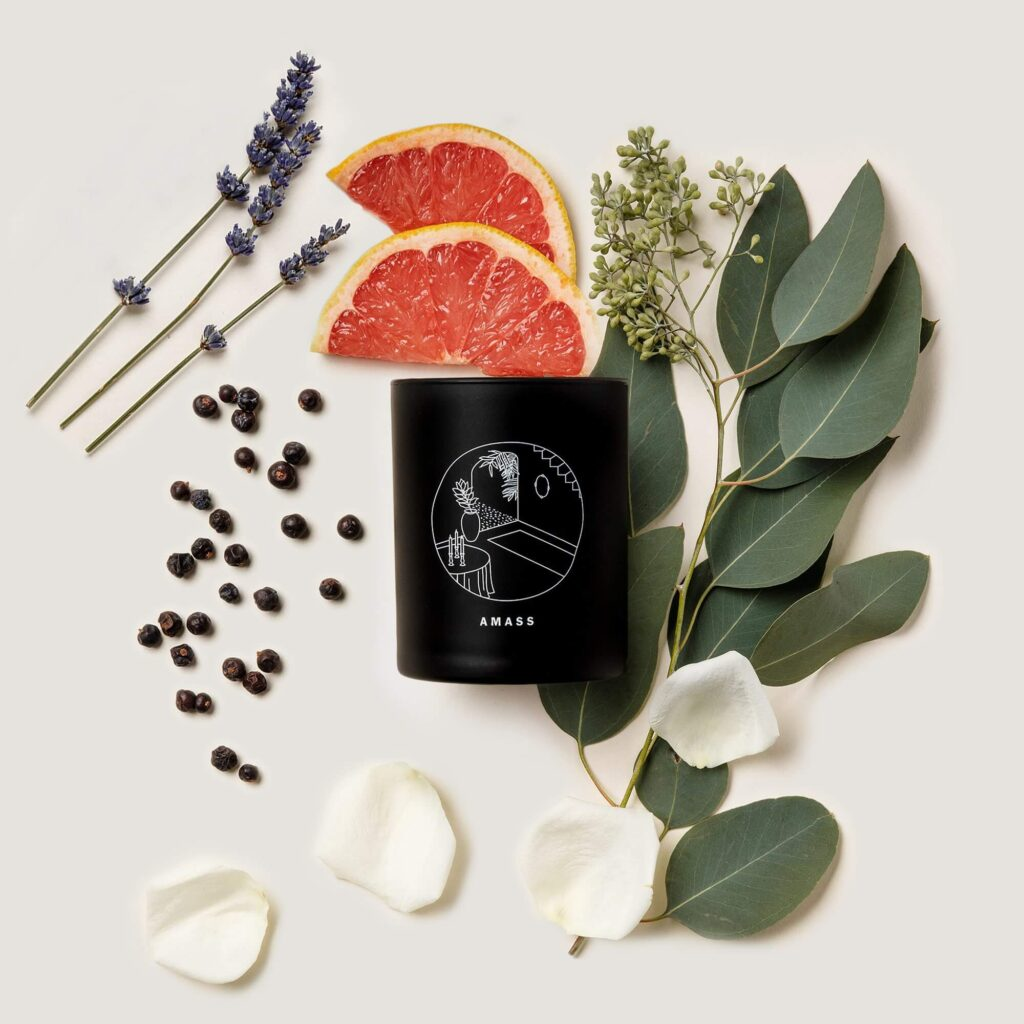 AMASS The art of staying in non toxic candle