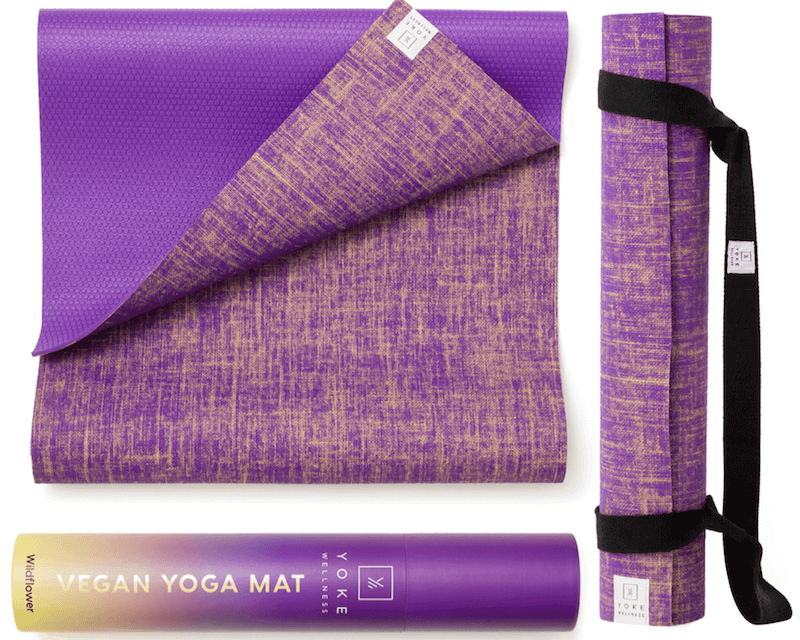 Yolke Wellness eco friendly yoga mat