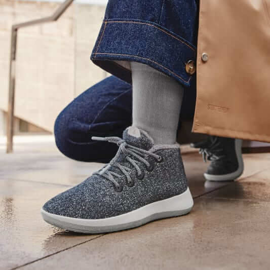 Allbirds wool mizzles boots in grey