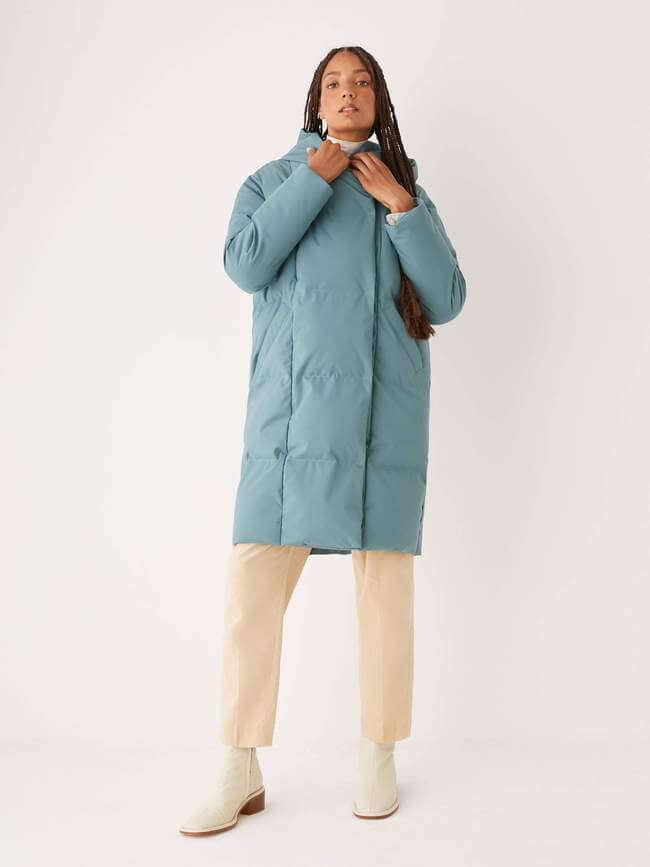 Frank and Oak sustainable puffer jacket