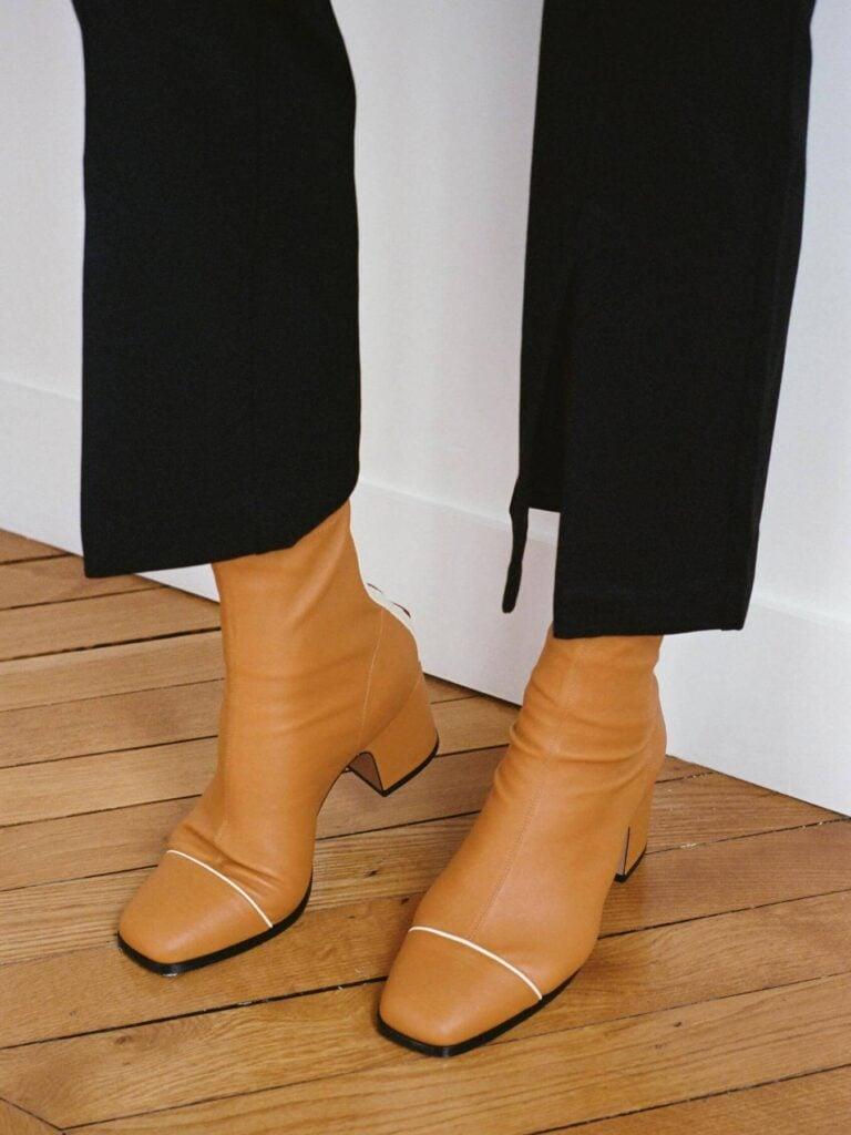 Nomasei leather luxury boots