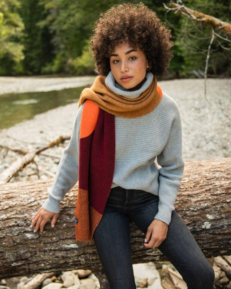 United By Blue sustainable Scarf