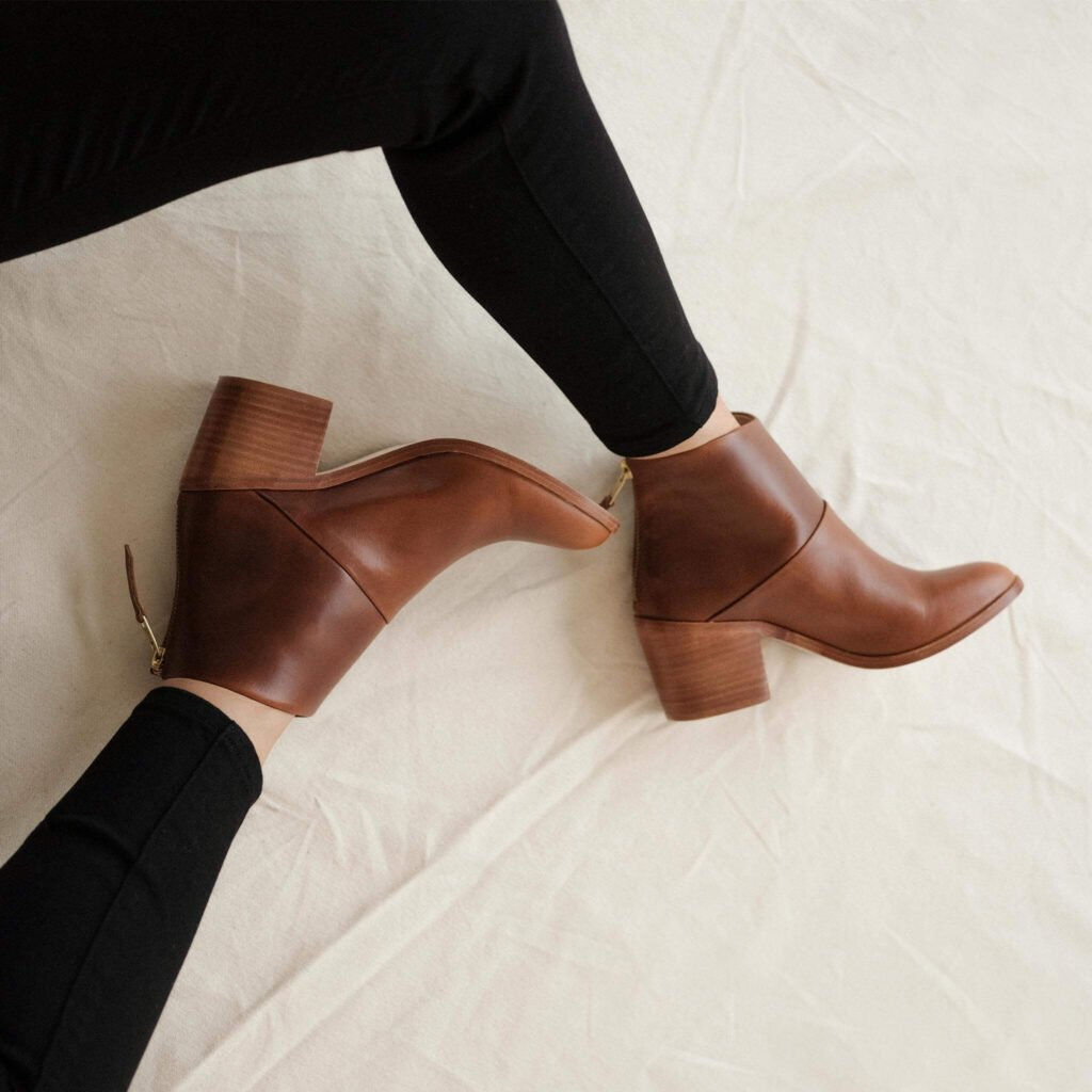 Nisolo sustainable leather boots